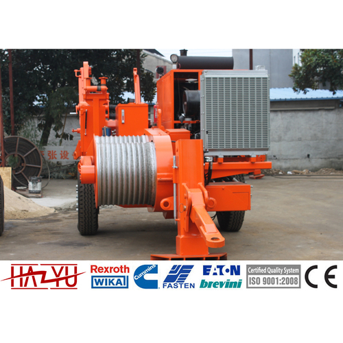 TY120 Max Intermittent Pull 120kN Hydraulic Puller For Overhead Stringing Machine
