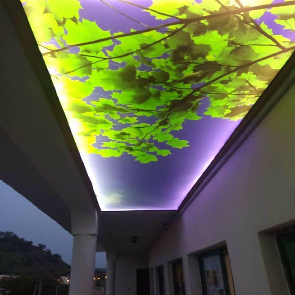 Shanghai Foxygen PVC Stretch Ceiling Texture Film LED Light DIY Night Sky Design
