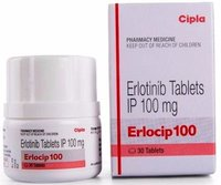 Erlocip 100 Tablet (Erlotinib (100mg) - Cipla Ltd)