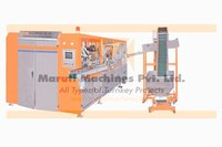 FULLY AUTO 6 CAVITY BLOW MOLDING MACHINE