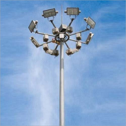 GI High Mast Light Pole
