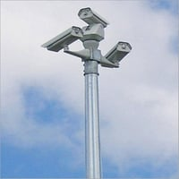 Galvanized Iron CCTV Pole