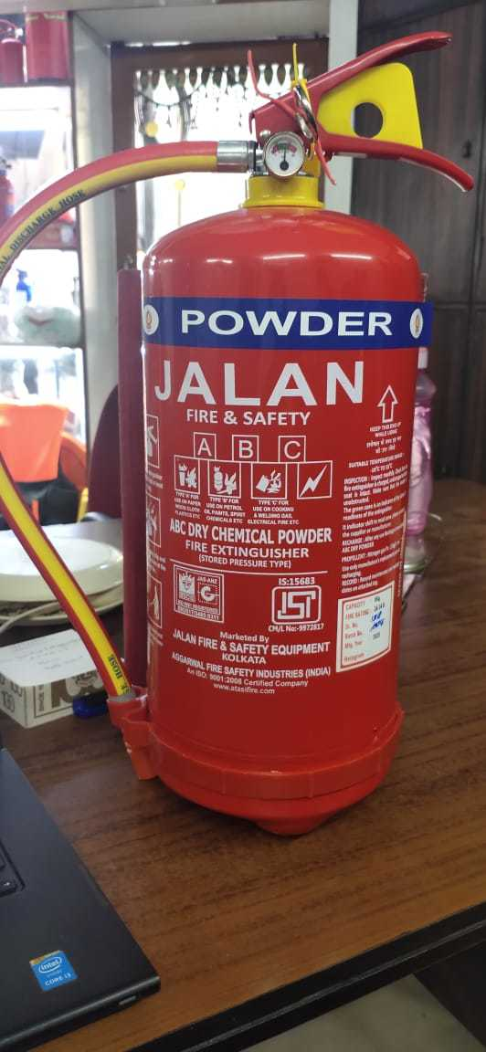 ABC TYPE FIRE EXTINGUISHER 4KGS
