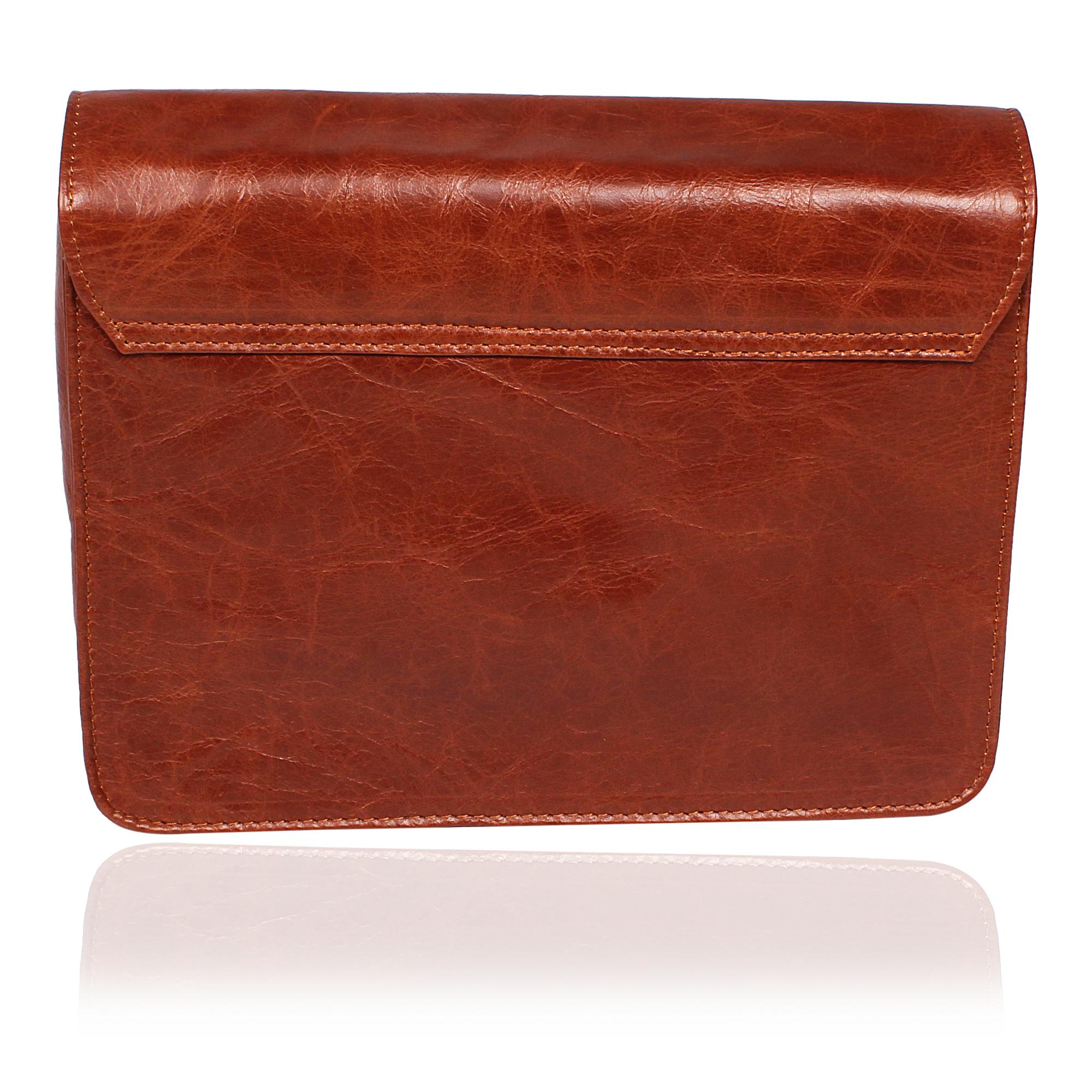 Classic Leather Clutch