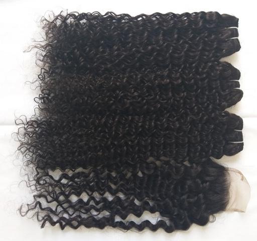 Spring curly Hair