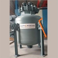Glass Lined Vertical Storage Tank