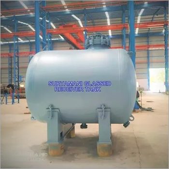 Glass Lined Horizontal Storage Tank