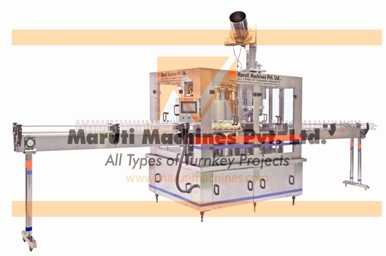 Rinsing filling capping machine for Glass Bottle