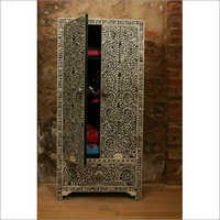 Black Bone Almirah Cupboard