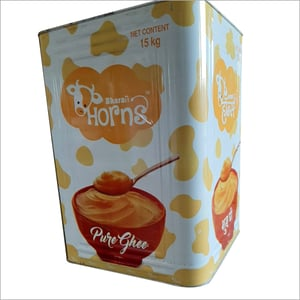Printed Metal Tin Container