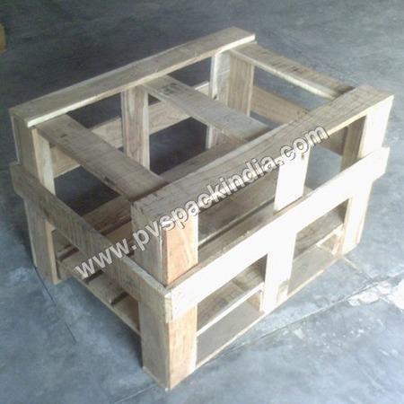 Wooden Storage Crate Pallet