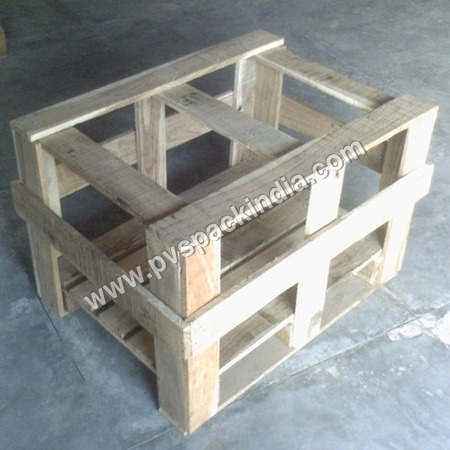 Wooden Storage Crate Pallet