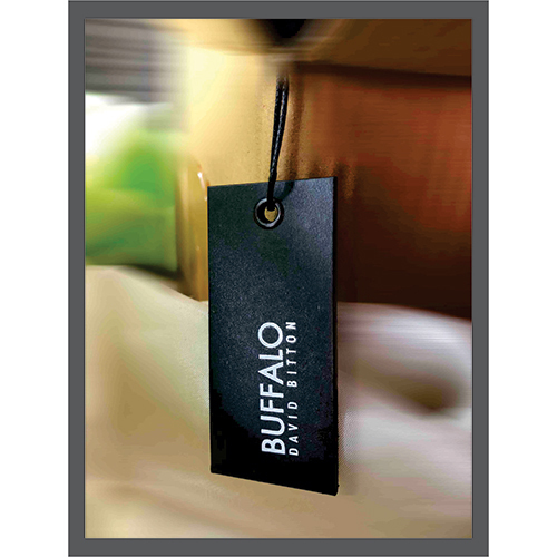 Laminated Hang Tag