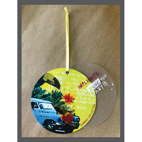 Round Shape Hang Tag