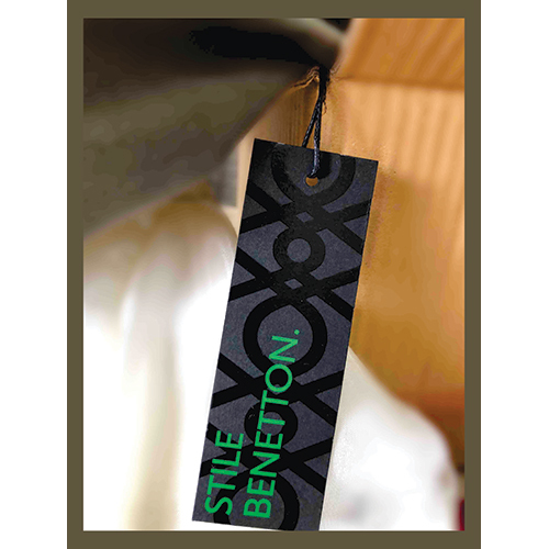 Branded Clothing Hang Tag