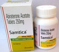 Samtica 250mg Tablet (Abiraterone Acetate (250mg) - Samarth Life Sciences Pvt Ltd)