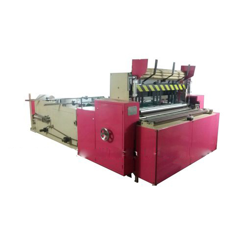 Automatic Toilet Roll Log Rewinding Machine
