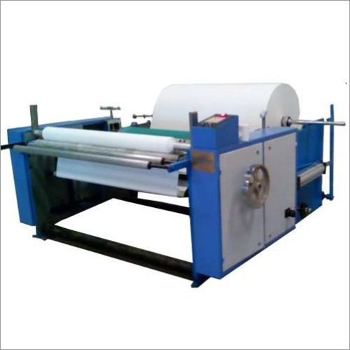 Maxi Roll Semi Automatic Rewinding Machine