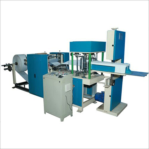 Single Deck Tissue Paper Napkin Making Machine Single Colour and Single Embossing 2 Line