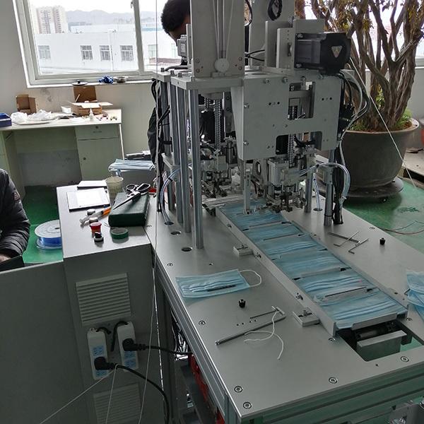 Semi Automatic 3ply Disposable Mask Making Machine