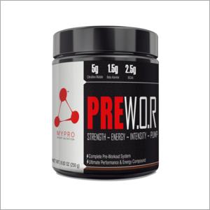 Pre Workout Amino Acid Mixture Nutrition Powder