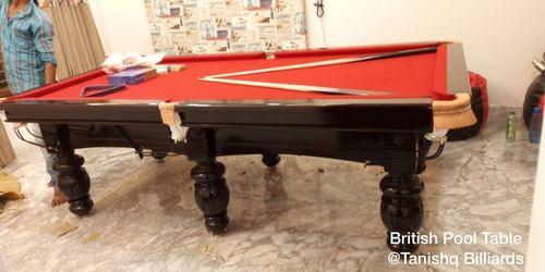 9 foot pool board table
