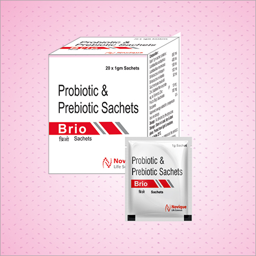 Probiotic and Prebiotic Sachet