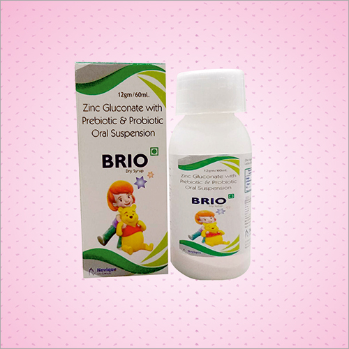 Zinc Gluconate With Prebiotic and Probiotic Oral Dry Syrup
