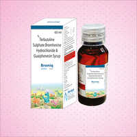 Ambroxol Hydrochloride Guaiphenesin and Terbutaline Sulphate Syrup