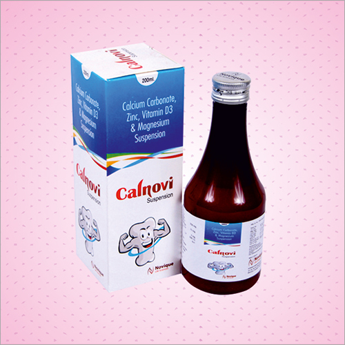 Calcium Carbonate Vitamin D3 Magnesium Suspension