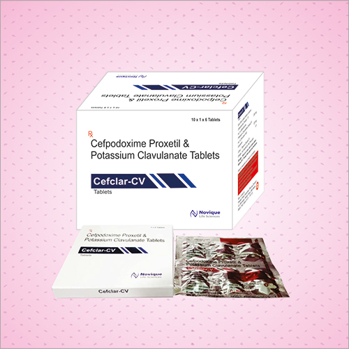 Cefpodoxime Proxetil and Potassium Clavulanate Tablets