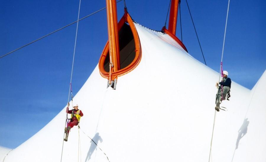Tensile Structure Repairing & Maintenance