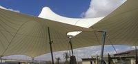 PVC Modular Tensile Umbrella Structure for House