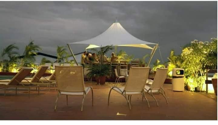 PVC Modular Tensile Umbrella Structure for House