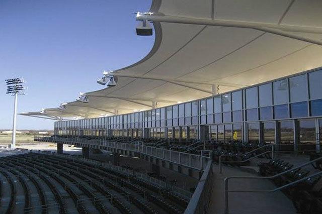Stadium Tensile Structure In Outdoor Area