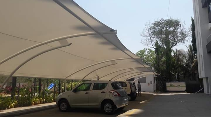 Commercial Car Parking Roof Tensile