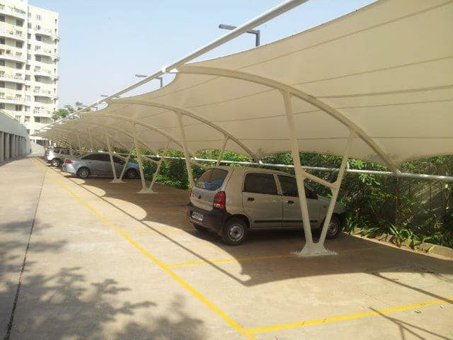 Car Parking Tensile Canopy