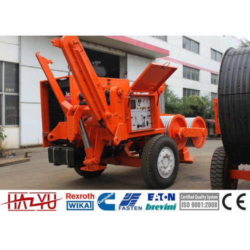 TY140 140kN Stringing Equipment Diesel 194kw(320hp) Hydraulic Puller