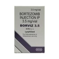 Borviz 3.5 Injection (Bortezomib (3.5mg) - Intas Pharmaceuticals Ltd)