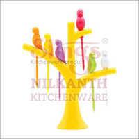 Plastic Fruit Fork Set