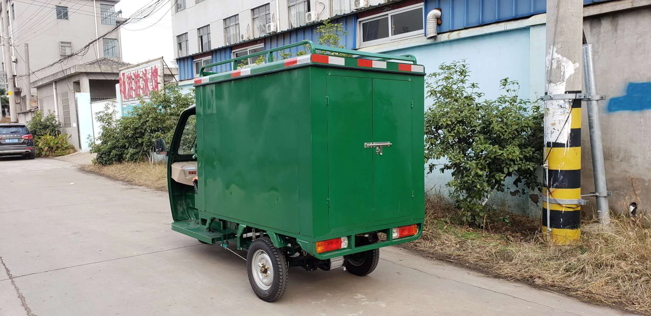 Express Delivery Vehicle