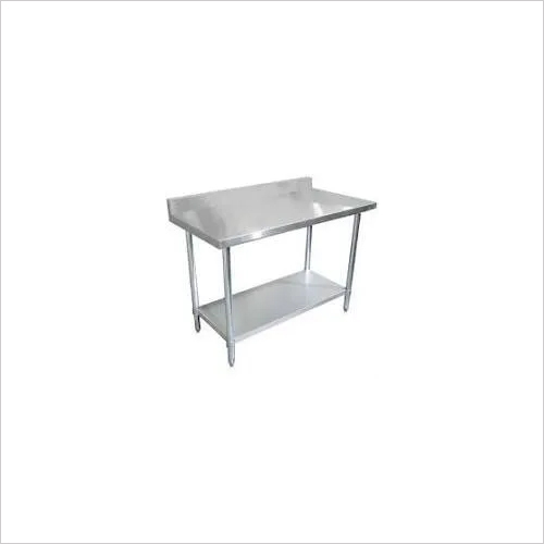 Steel Kitchen Table and Skin units