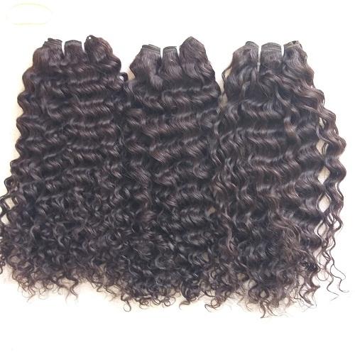 Steam deep curly hair