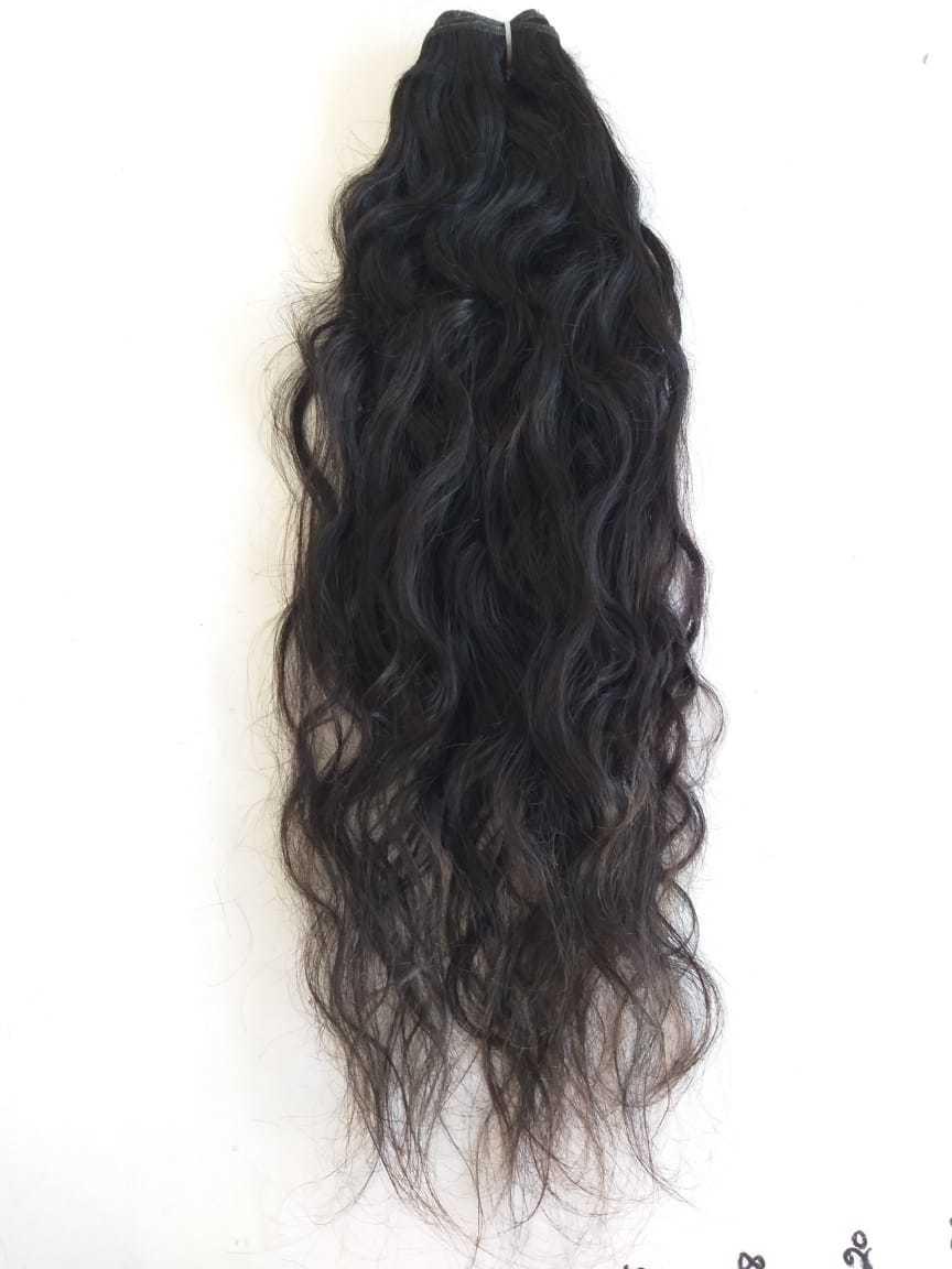 Raw Temple Wavy Human Hair,100% Raw Natural Wavy top quality Hair, Vintage hair