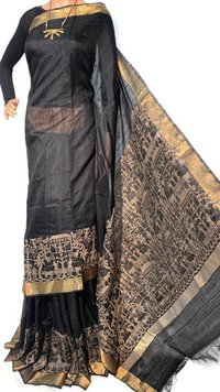 DUPION RAW SILK SAREE.