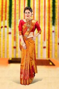 Wedding saree ( pattu saree)
