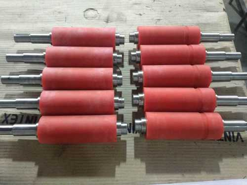 Rollers for mask making machines