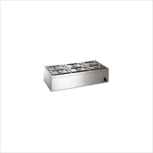 BAIN MARIE ELECTRIC (4-Bowl) Tabletop