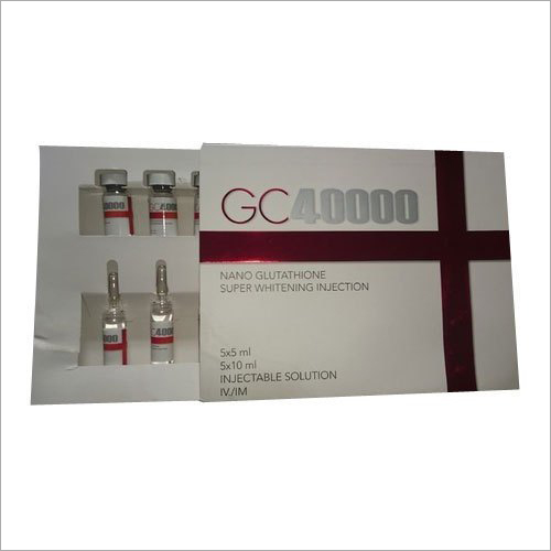 GC40000 Nano Glutathione Super Whitening Injections