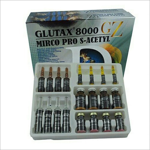 Glutax 8000gz Micro Pro S Acetyl Glutathione Injections